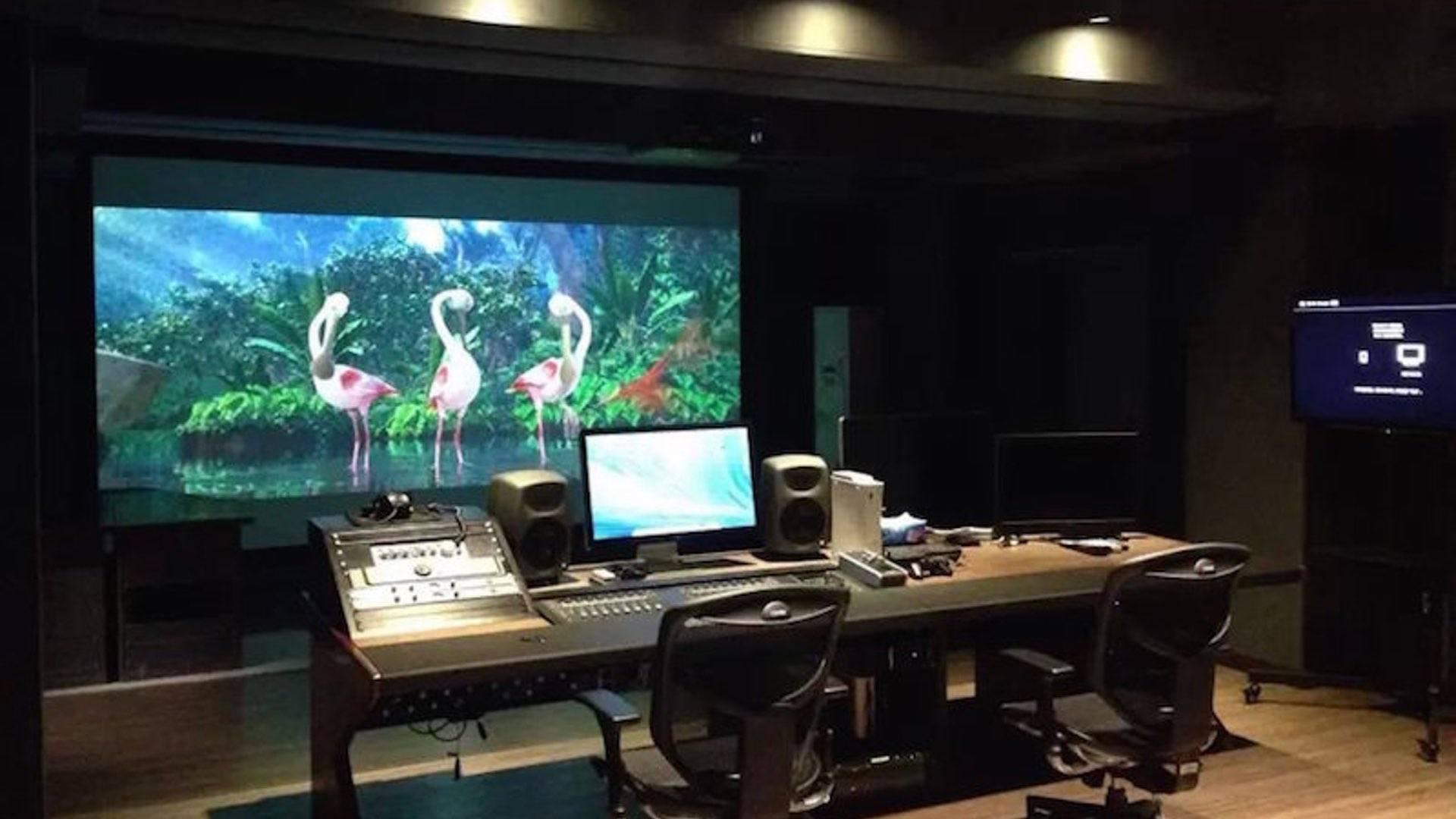 电影混录棚 Dolby 7.1 声道-北京电影学院
