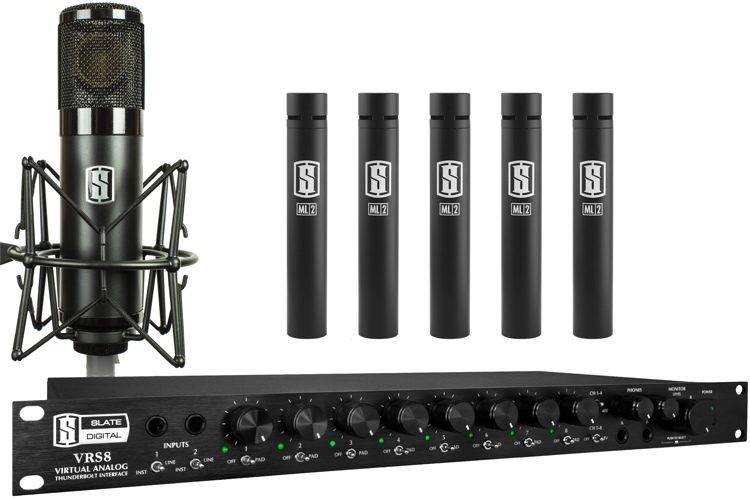 Slate Digital VRS8 with ML-1 & Five ML-2 话筒套装