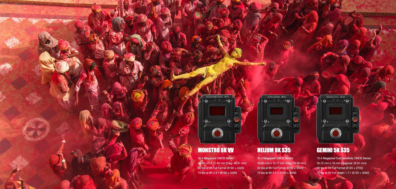 8K 电影摄影机