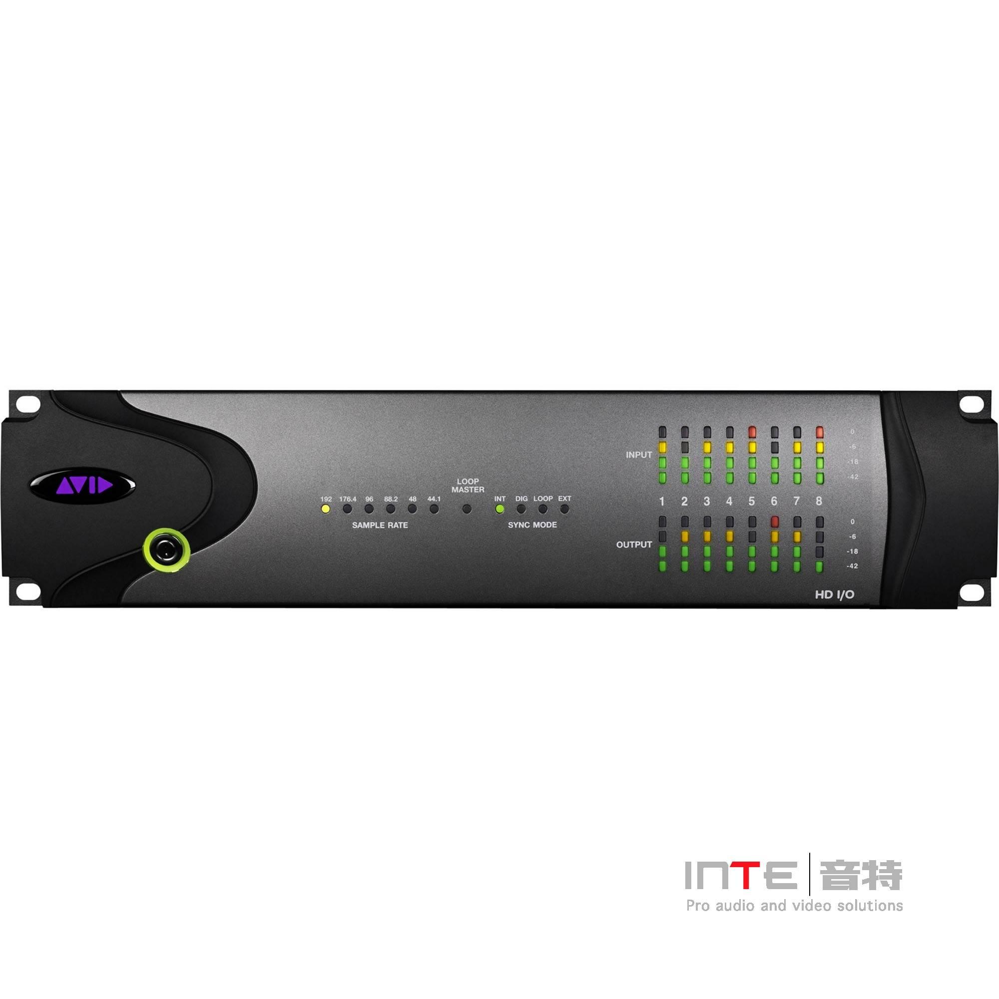 AVID HD I/O 8x8x8