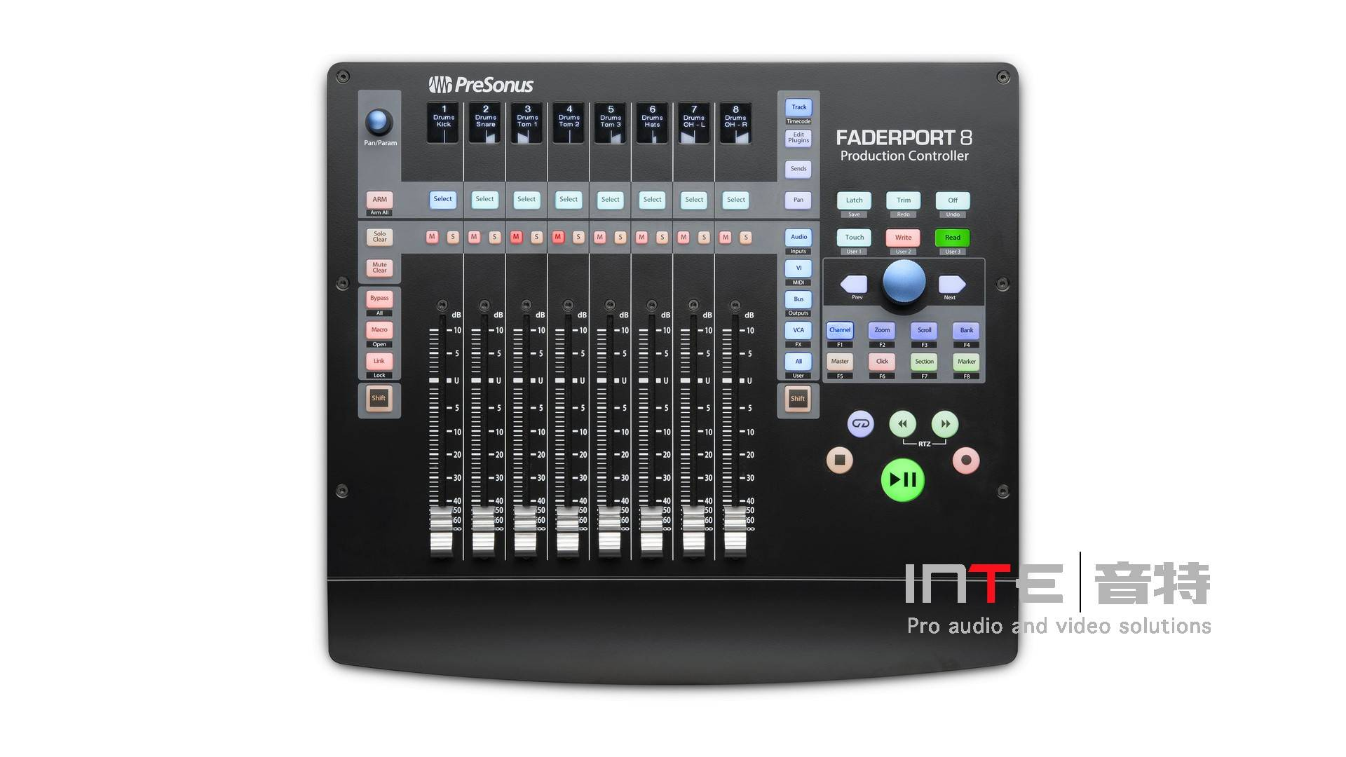 数字控制台 PreSonus Faderport 8