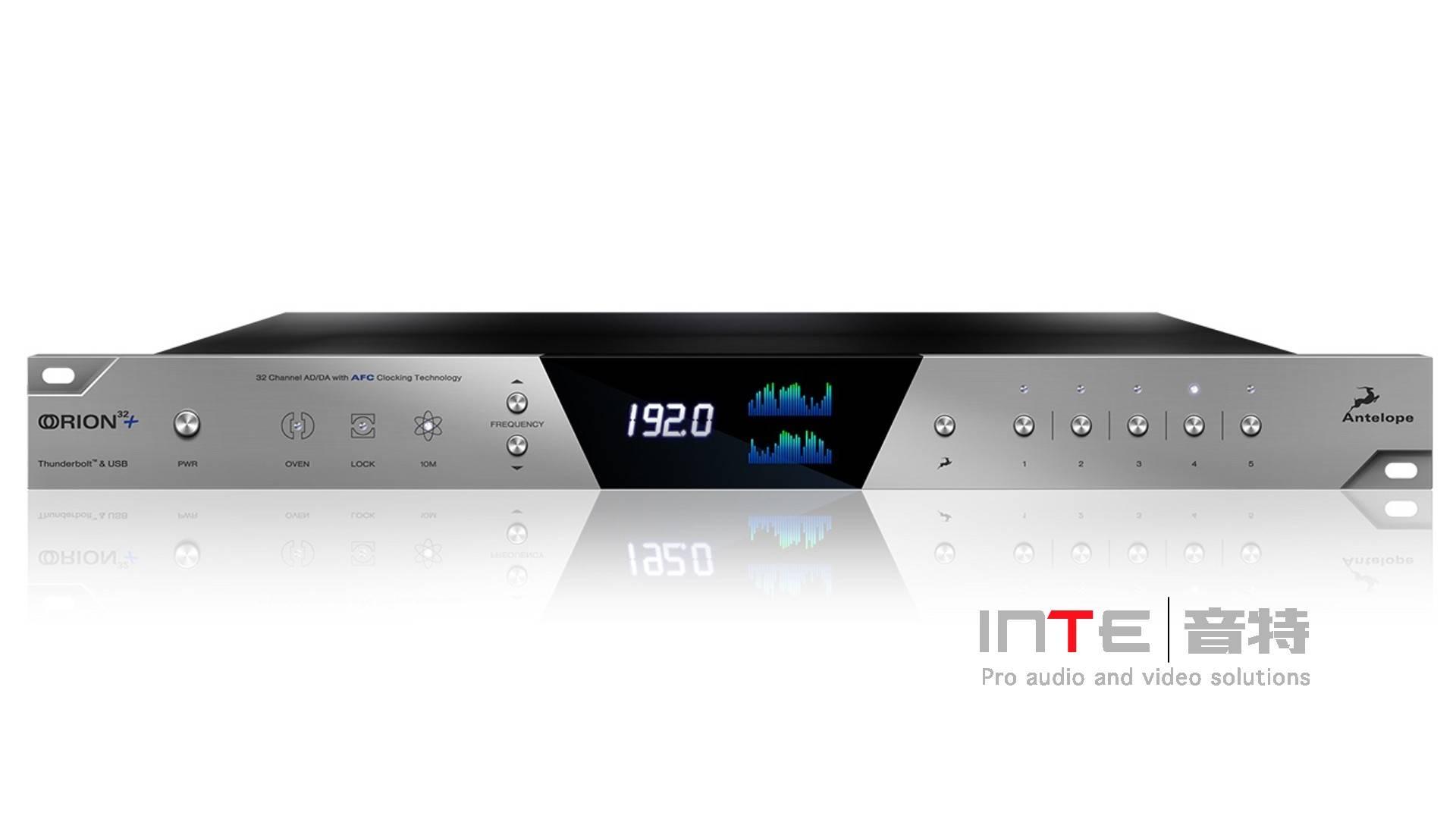Antelope Audio Orion 32+ 64通道Thunderbolt™ 和 USB AD/DA