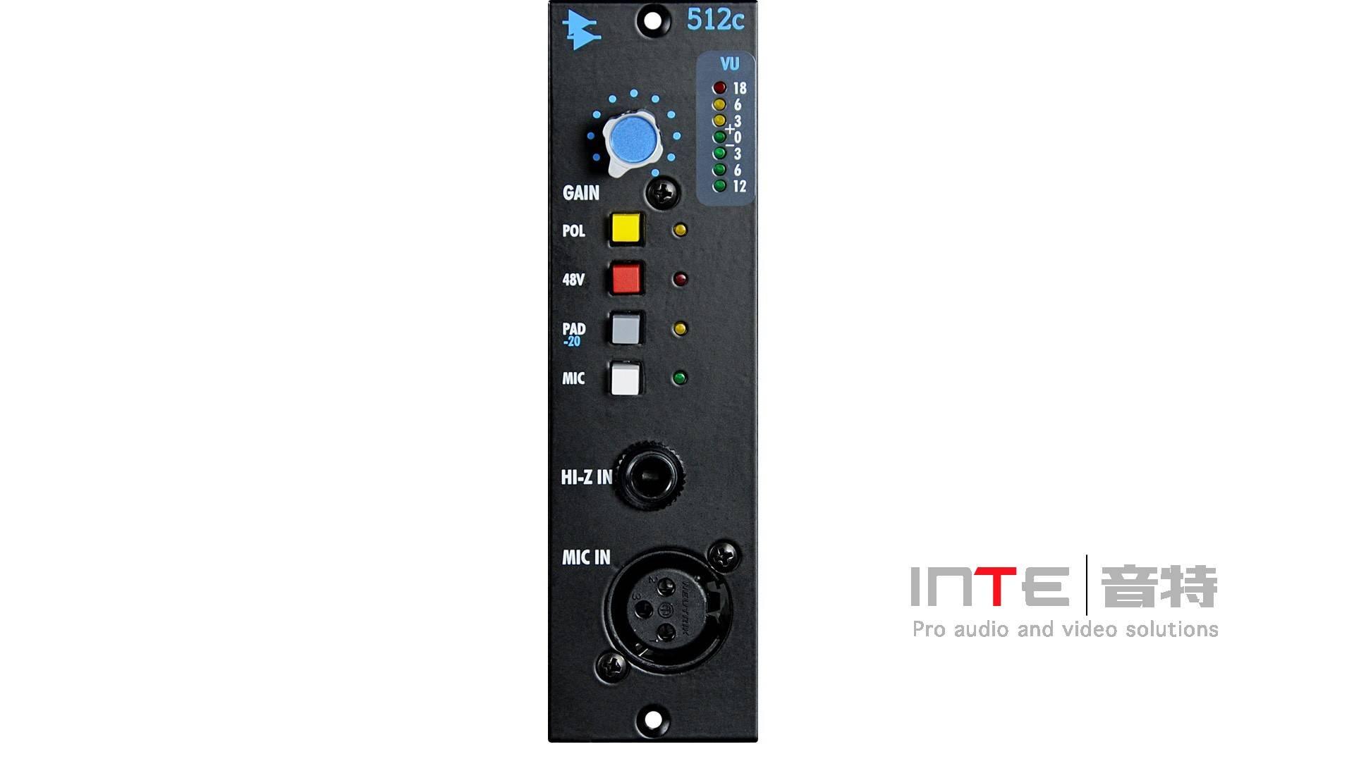 API 512C MIC /Line/DI前置放大器