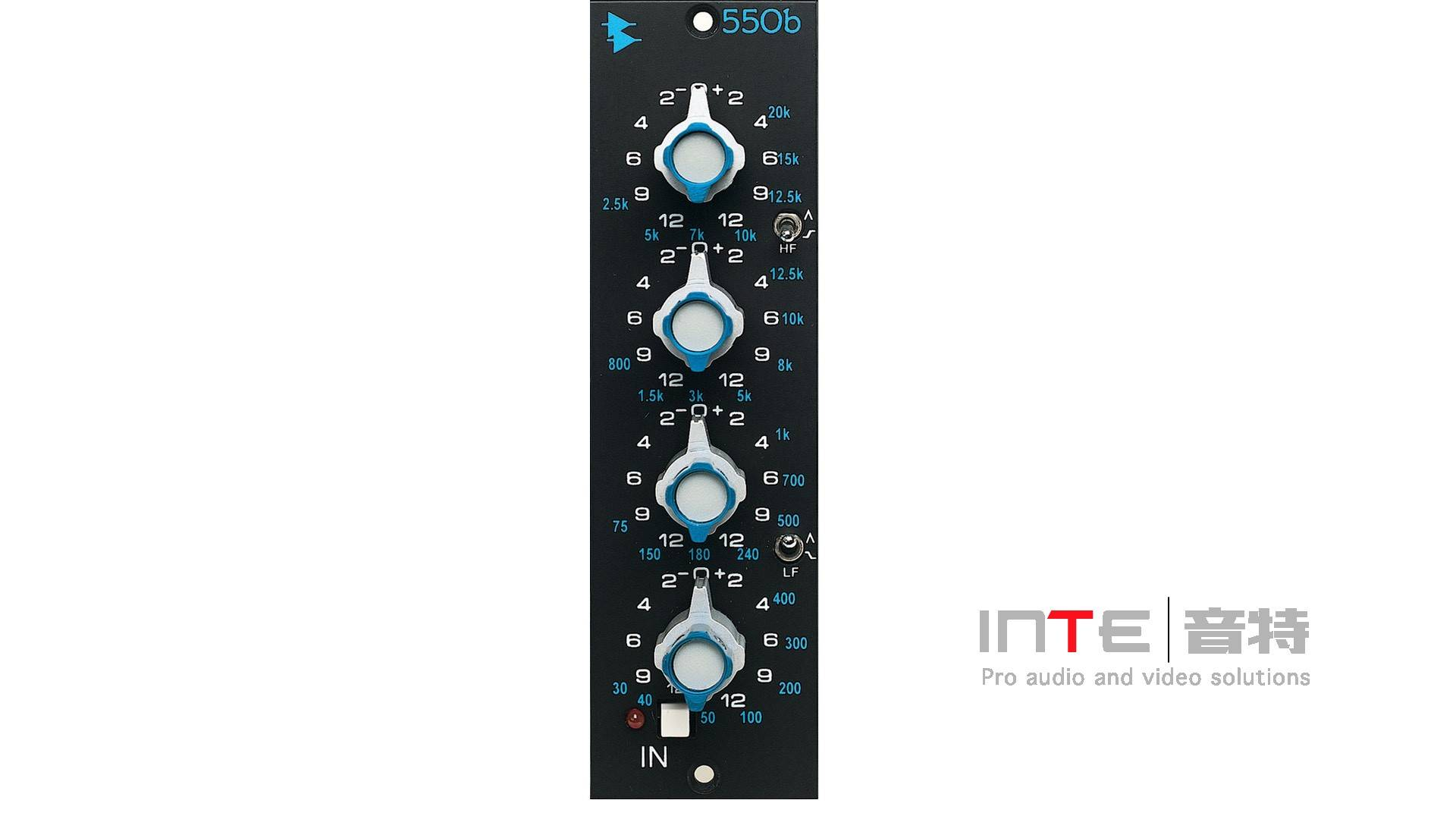 API 550b Discrete 4 Band EQ 500系列