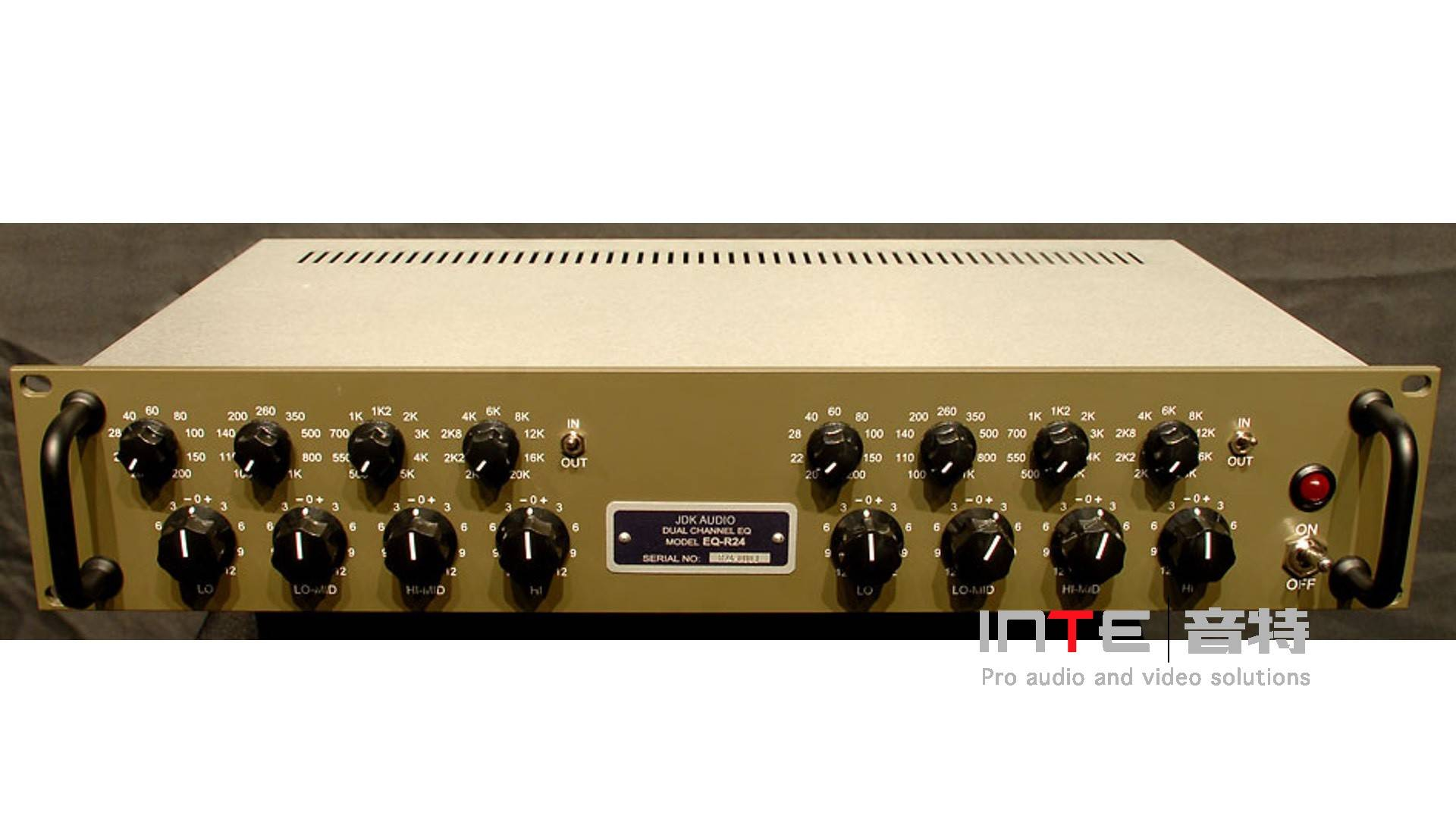 API JDK Audio R24双通道4段均衡器