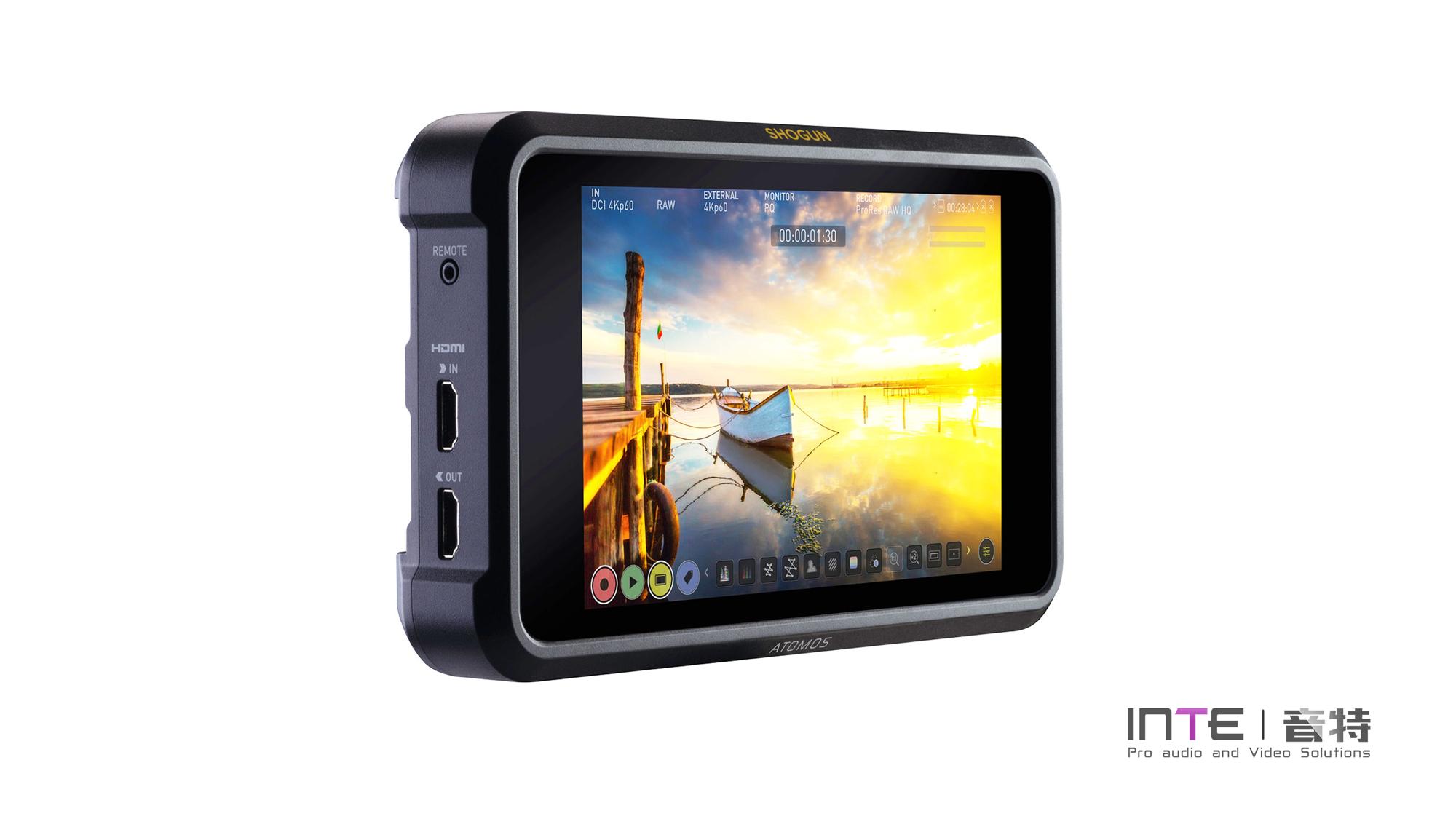ATOMOS shogun7 7英寸超高亮度多功能4K HDR监视记录仪 监看录制监视器记录仪