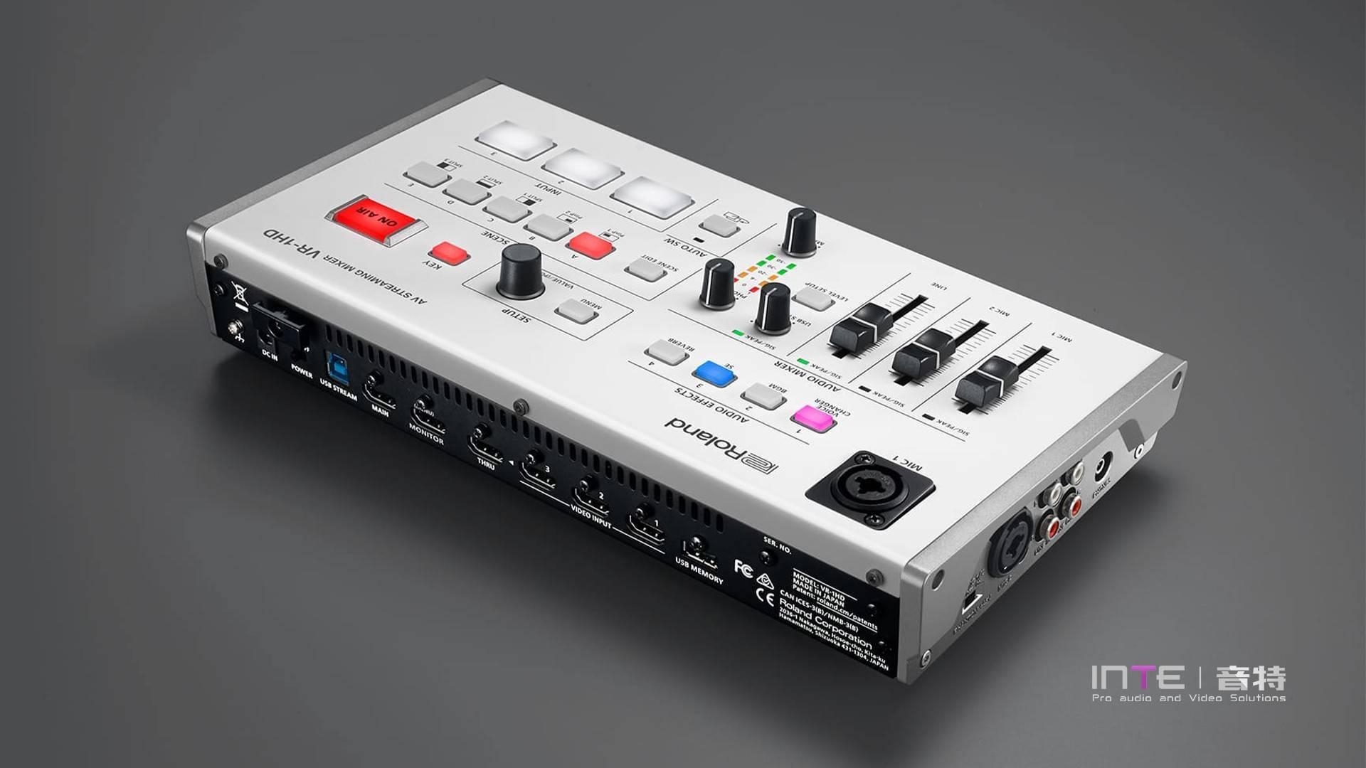 ROLANDVR-1HD高清音视频直播切换台