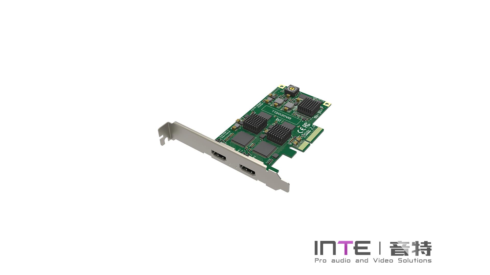MagewellPro Capture Dual HDMI 两路高清采集卡