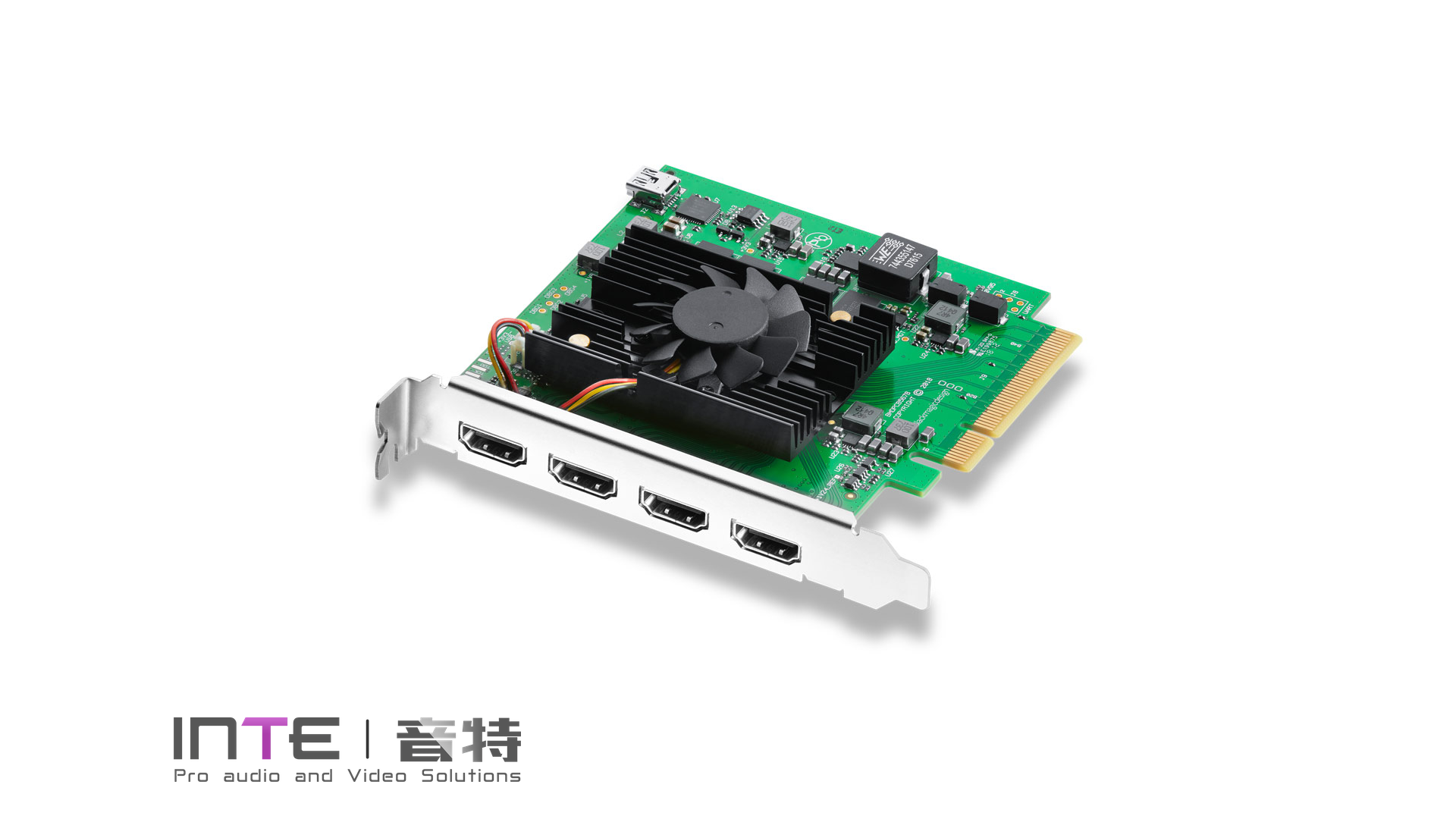 Blackmagic DeckLink Quad HDMI Recorder 四路HDMI采集卡
