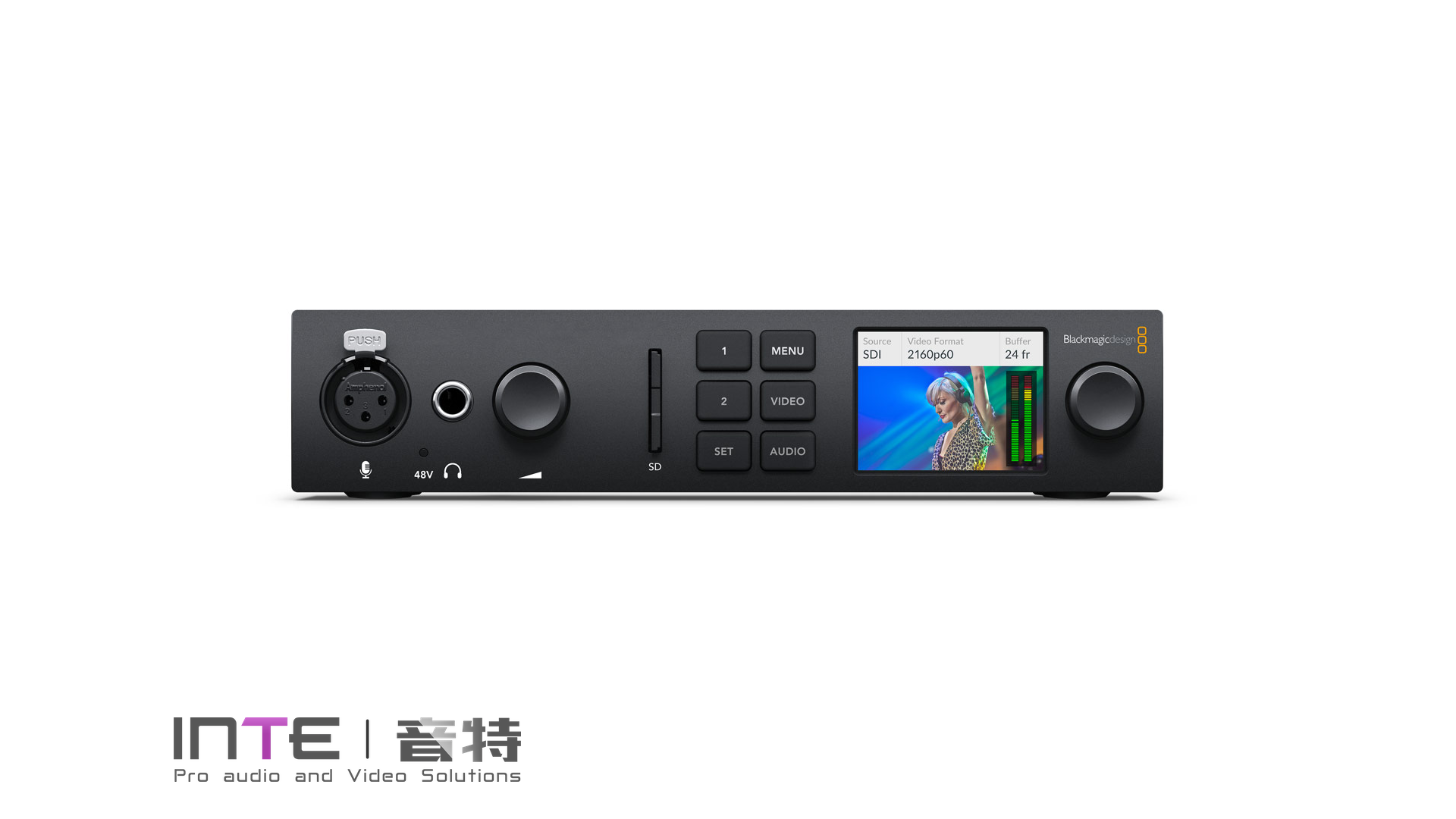 Blackmagic UltraStudio 4K Mini 雷电3采集输出