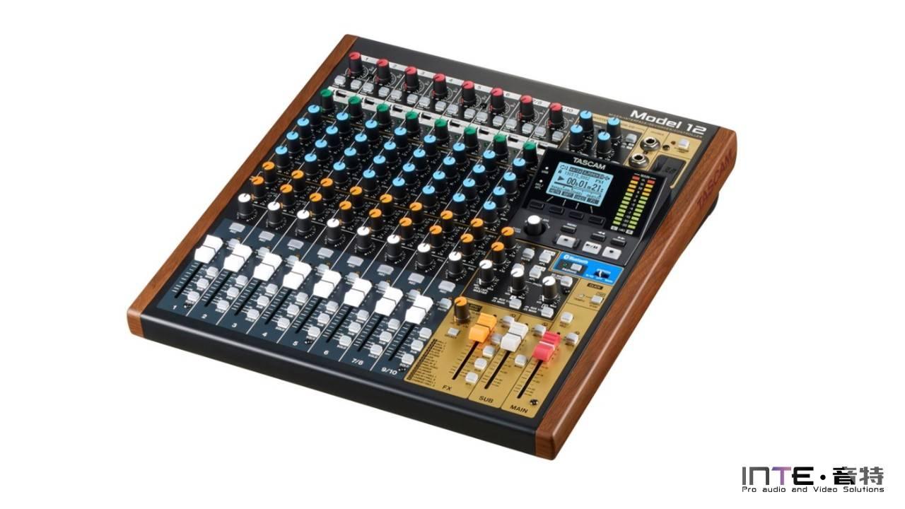TASCAM Model 12 12通道多功能调音台