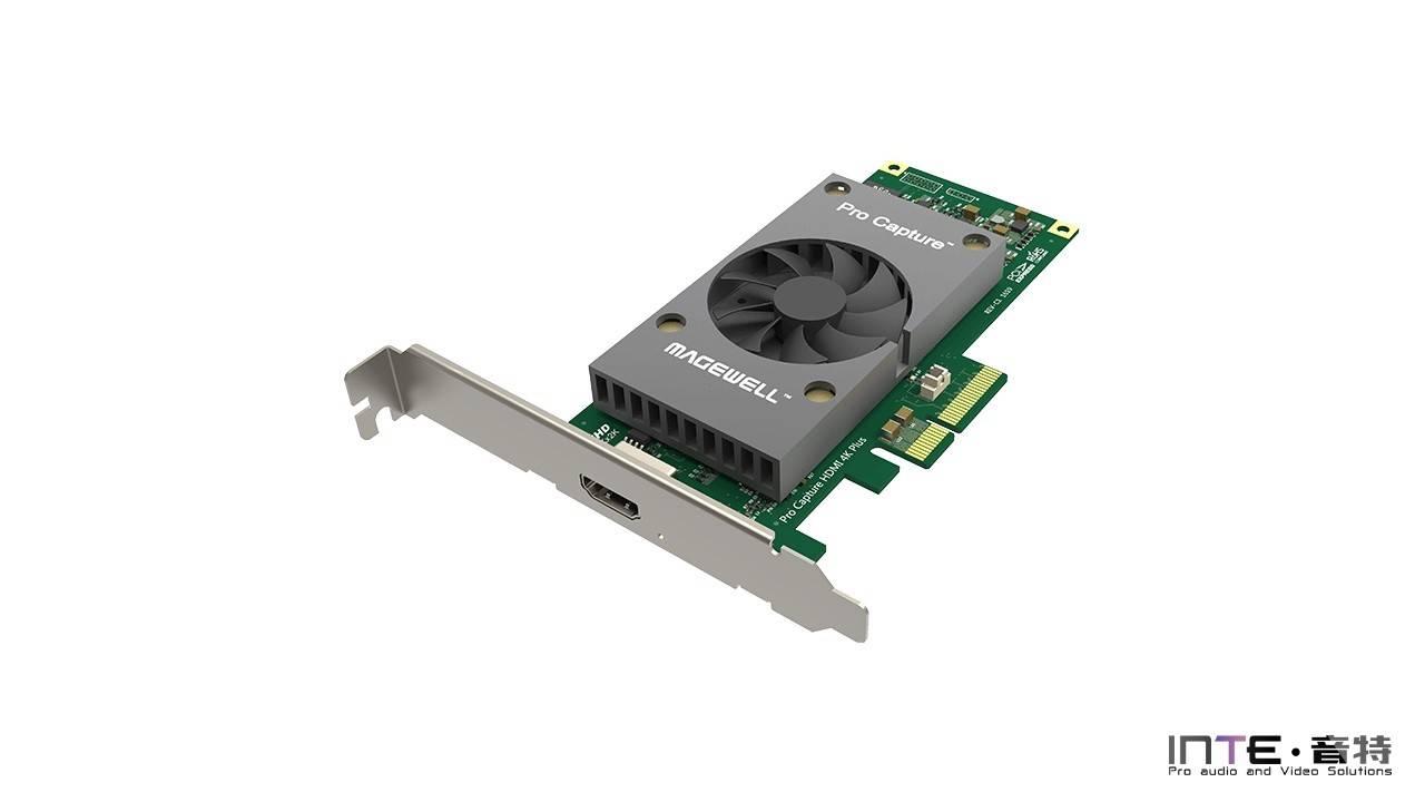 MagewellPro Capture HDMI 4K Plus 一路超高清采集卡