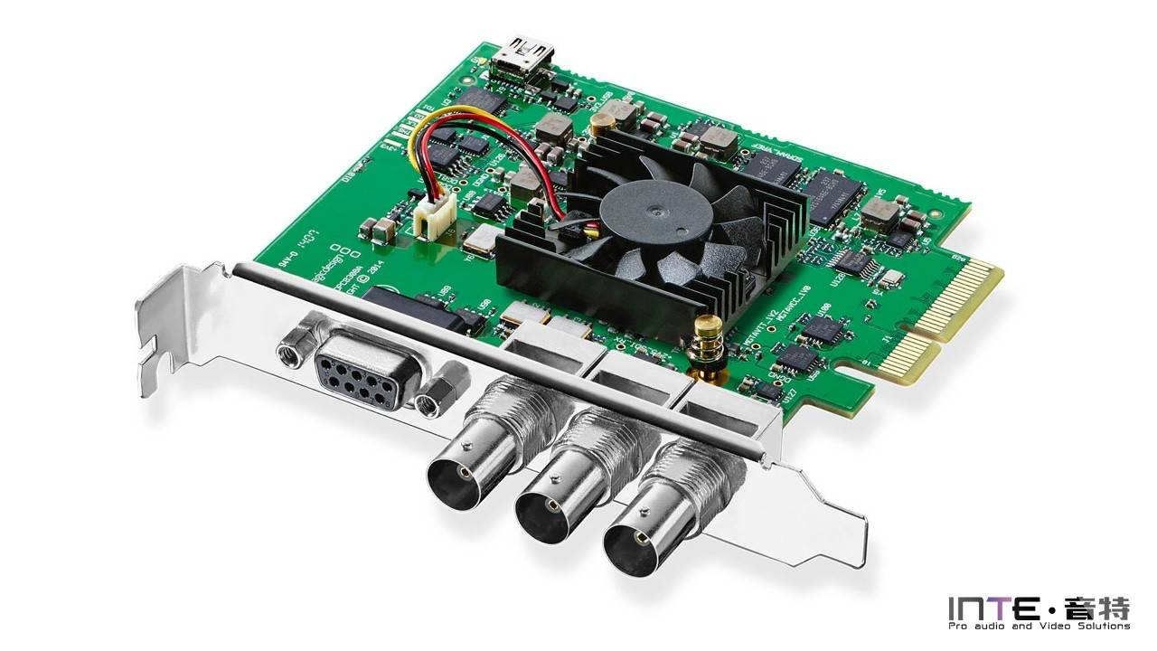 Blackmagic DeckLink SDI 4K 一路4K采集输出卡