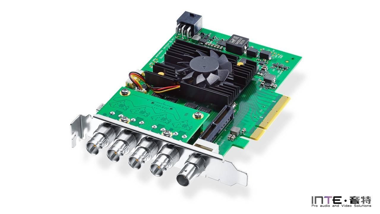 Blackmagic DeckLink 8K Pro 四路SDI采集输出卡
