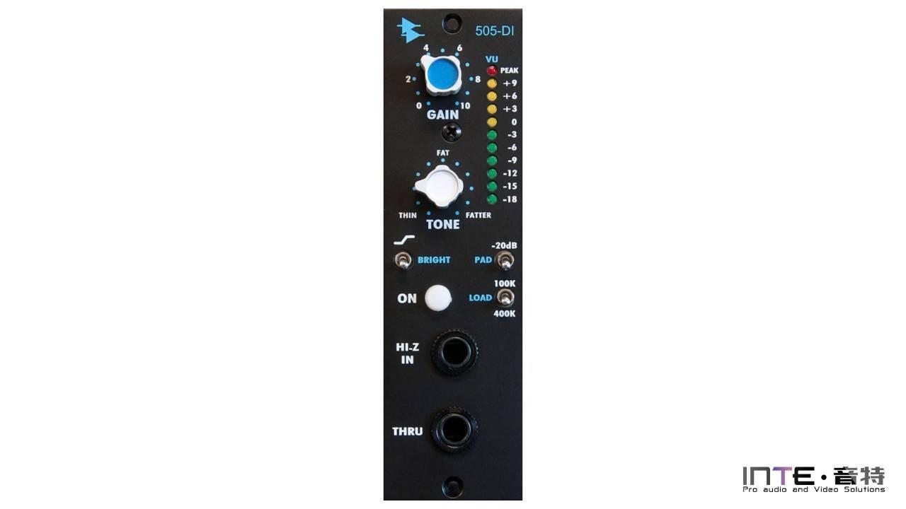 API 505-DI Direct Input前置放大器