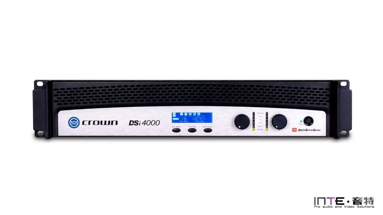 CROWN DSi 4000 两通道扬声器功放