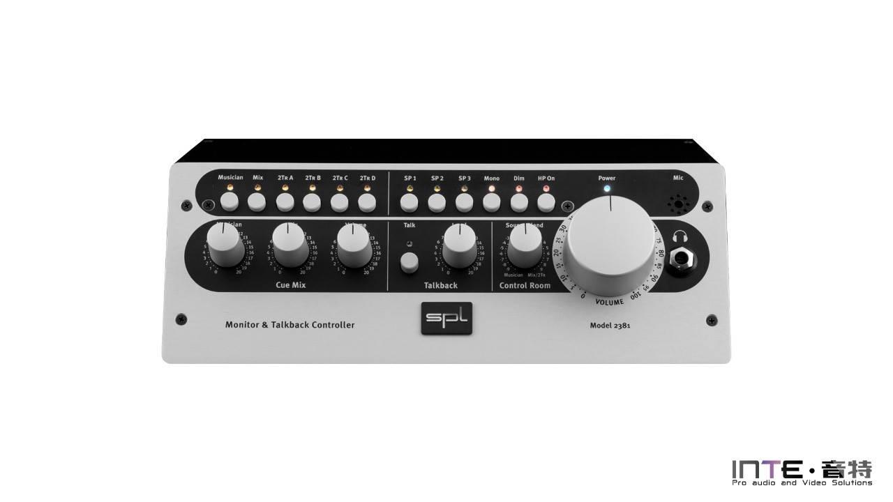 SPL MTC 立体声监听控制器