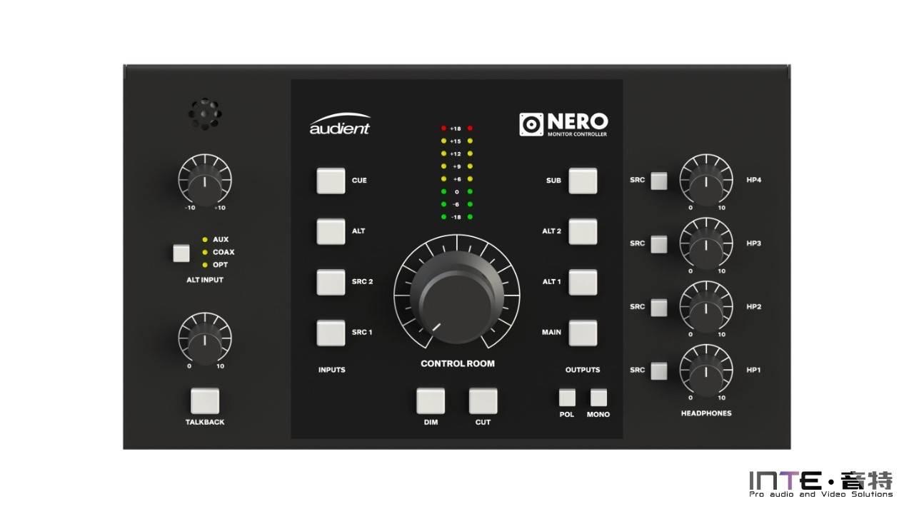 Audient Nero 立体声监听控制器