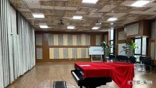 声学装修 北京物资学院-声学改造