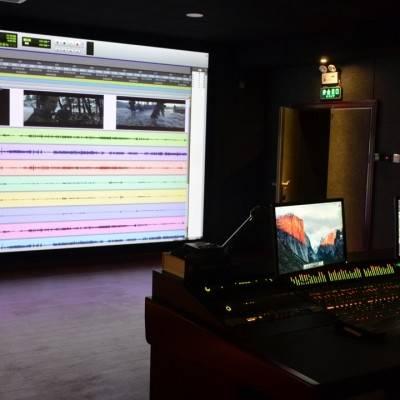 混录棚 DOLBY 7.1声道-浙江传媒学院