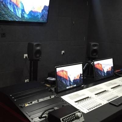 混录棚 环绕声 5.1 声道 浙江传媒学院
