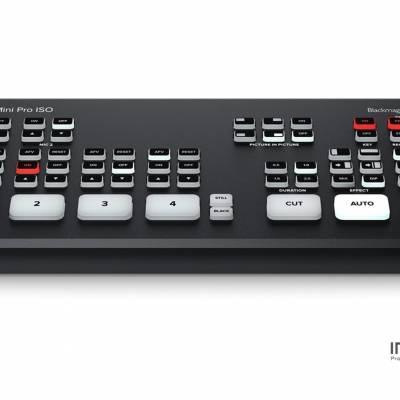 Blackmagic ATEM Mini Pro ISO广播级现场制作多机位导播台