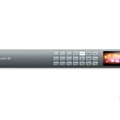 Blackmagic ATEM Production Studio 4K现场制作切换台BMD控制面板