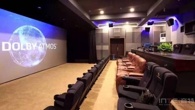 DOLBY ATMOS 全景声 DI调色棚 首都经贸大学