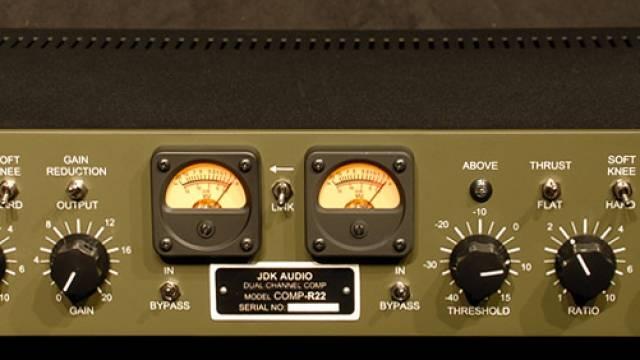 API  JDK Audio R22双通道压缩器