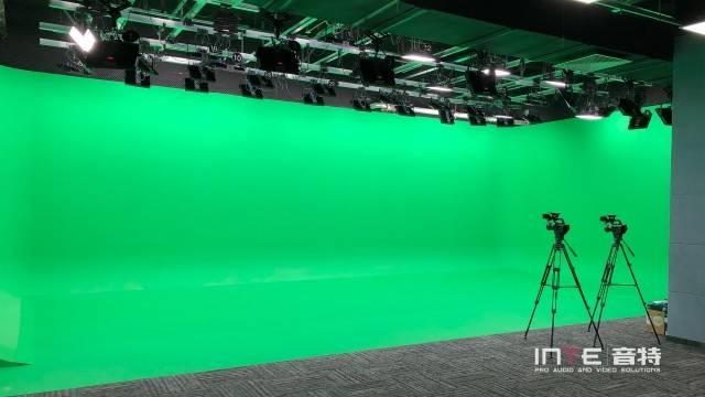 虚拟演播室 企业虚拟发布会 绿幕直播间