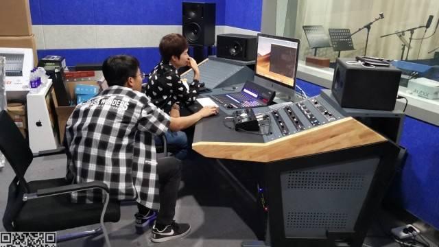 录音棚 金昌电视台