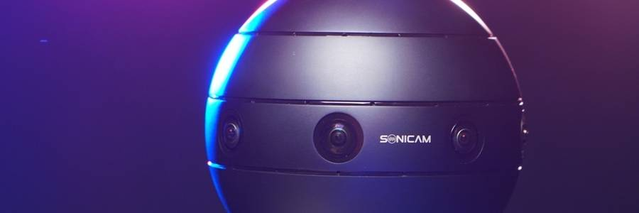 Sonicam 360 Degree 3D VR Video Camera (video)