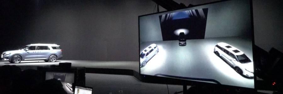 用虚幻UE引擎为汽车发布会制作AR网络直播